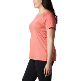 Columbia Peak To Point II T-shirt Damer, bright poppy heather